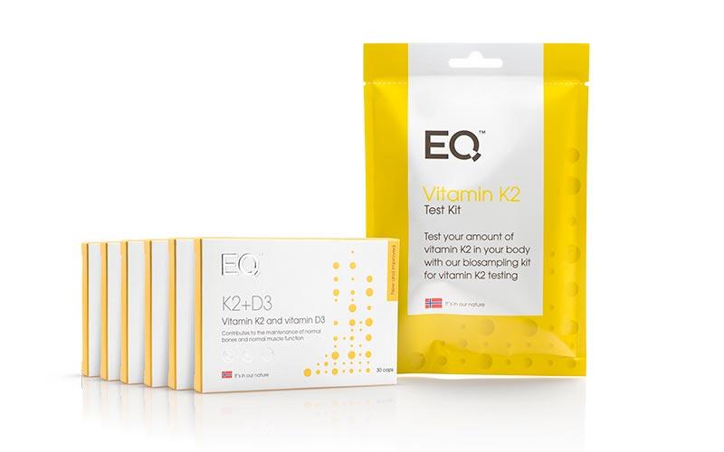 K2 vitamin fra Eqologi