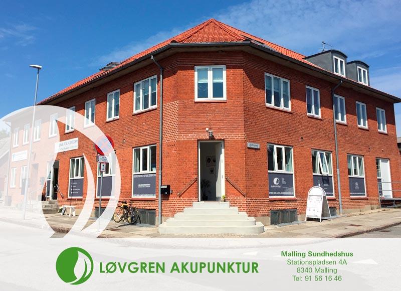 Akupunktur klinik i Malling Sundhedshus - mellem Århus og Odder.